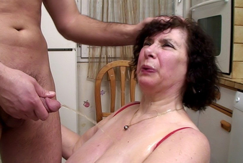 Girls forced lick pussy