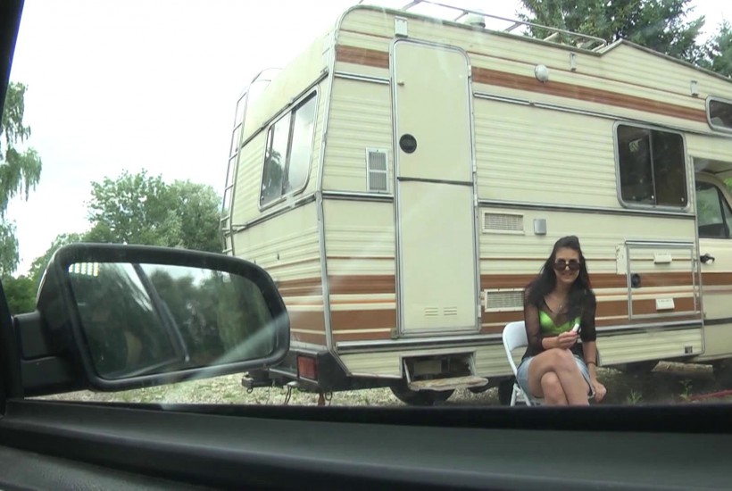 baise camping car pute extreme