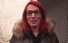 Emilie, 28 ans, rouquine agent administratif à Brou-sur-Chantereine dans le 77 ! (Jacquie et Michel)