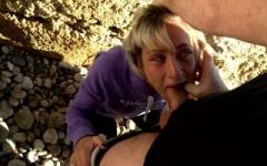 On défonce Nikky de Montpellier sur une plage d'Espagne! (Jacquie et Michel)