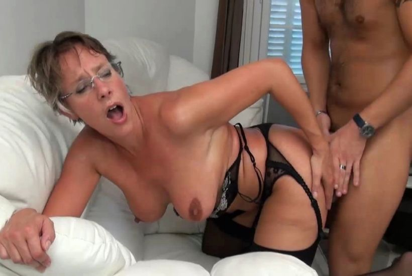 Hairy Milf Double Up