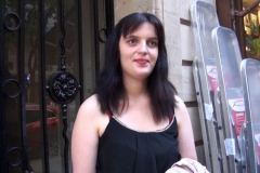 On va chercher Florence, l'débutante en CAP charcuterie, à la sortie du traiteur où elle est en stage ! (Jacquie et Michel)