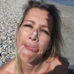 Tamara baise sur la plage pour son casting x
